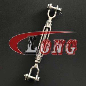 Turnbuckle Jaw & Jaw US Fed. Spec.-China LG Supply