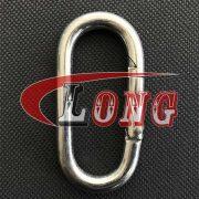 China Oval Snap Hook Zinc Plated Supply