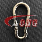 China Stainless Steel Carbine Snap Hook Supply