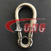 China Stainless Steel Snap Hook with Screw & Eyelet Supply