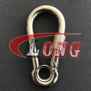 Stainless Steel Snap Hook with Screw & Eyelet DIN5299-China LG™