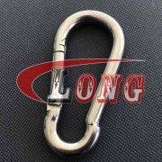 DIN 5299C Carbine spring Hook