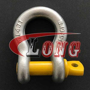 AS2741 Grade S Bow Shackle with Screw Pin-China LG™