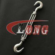 Hook & Hook Turnbuckles Galvanized, Forged Hook & Hook Turnbuckles (2)