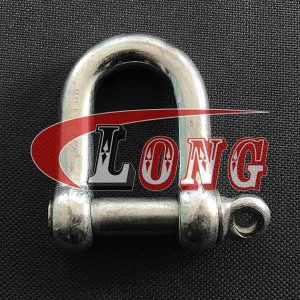 JIS Standard Screw Pin Chain Shackle without Collar