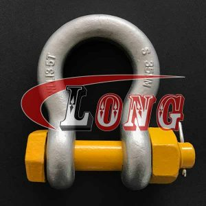 AS2741 Grade S Bow Shackle with Safety Pin-China LG™