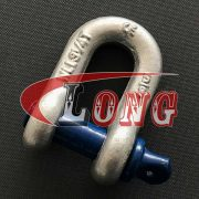 Screw Pin D Shackle, Screw Pin D Shackle-Galvanized, G210 Screw Pin DChain Shackles China, Screw Pin Shackles China,Galvanized Dee Shackle China