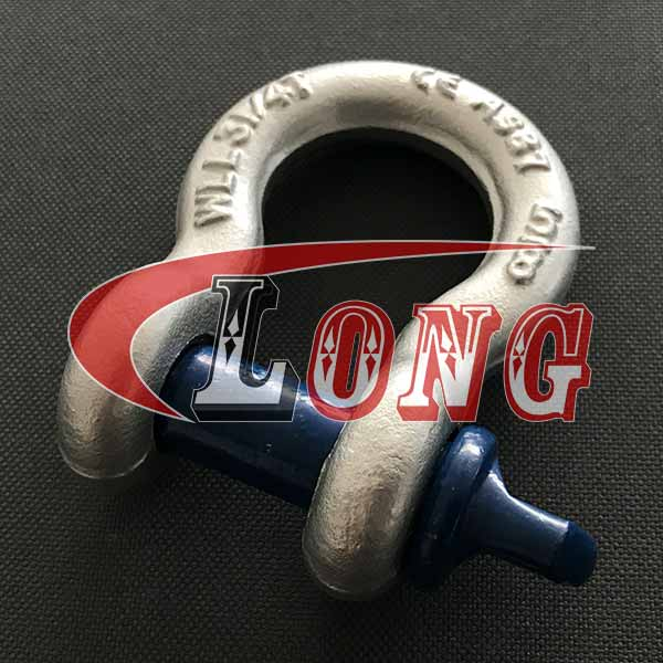 Screw pin bow shackle G-209