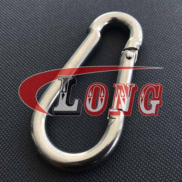 Stainless Steel Carbine Snap Hook