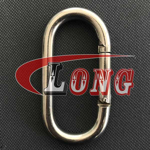 stainless-steel-carabiner-oval-snap-hook-china