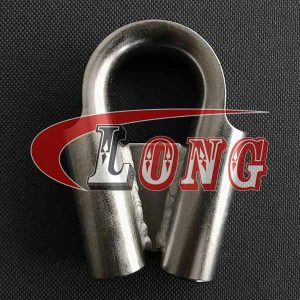 Stainless Steel Tube Thimble with Gusset-China LG Supply