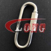 China Zinc Plated Long Quick Link Supply