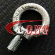 Galvanized Eye Bolt JIS 1168, Zinc plated Lifting Eye Bolt JIS 1168 China