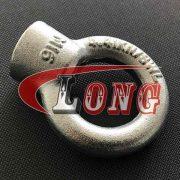 Galvanized Eye Nut JIS 1169, Zinc plated Lifting Eye Nut JIS 1169 (2)