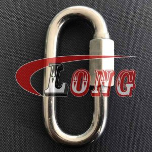 Stainless Steel Quick Link-China LG Manufacture