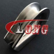 Stainless Steel Wire Rope Thimbles Heavy Duty G414-china