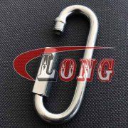 Zinc Plated Long Quick Link