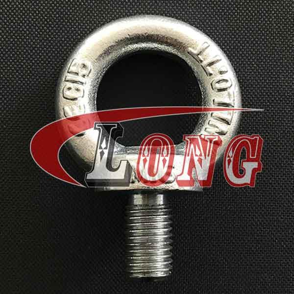 Zinc plated Eye Bolt Din580, Lifting Eye Bolt Din580 China