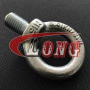 Zinc plated Lifting Eye Bolt JIS 1168,JIS1168 Eyebolts .