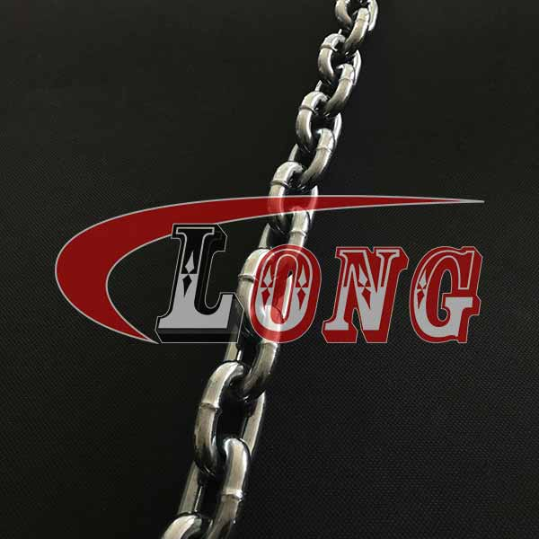 China Din766 Short Welded Link Chains Supply