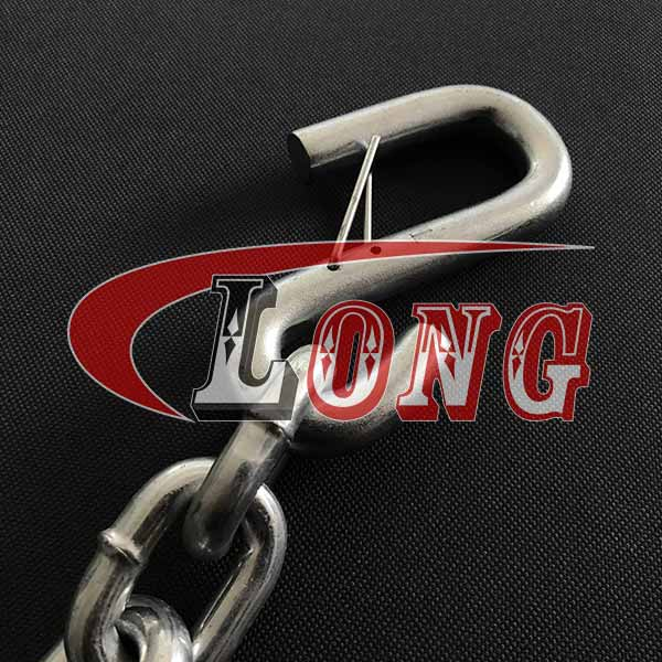 China Safety Chain with S-Hooks–