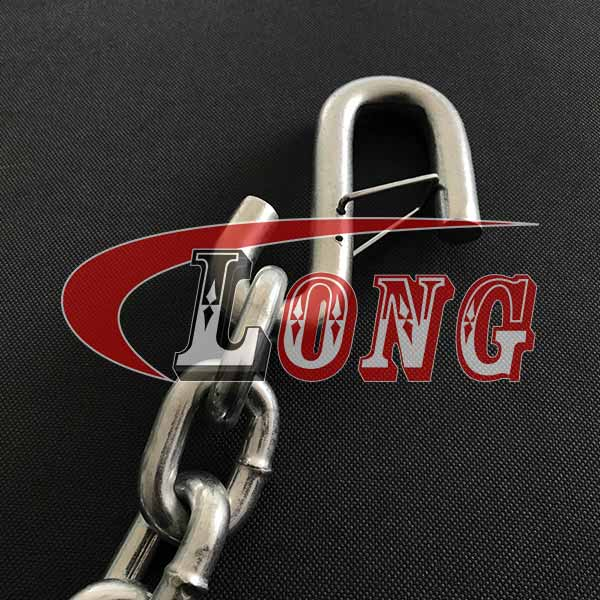 China Safety Chain with S-Hooks Supply