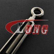 China Stainless Steel Eye & Hook Turnbuckle