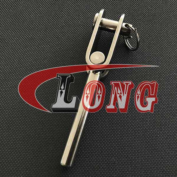 China Stainless Steel Wire Rope Swage Toggle Jaw Terminals Supply