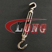 Stainless Steel Hook & Hook Turnbuckles, US Fed. Spec