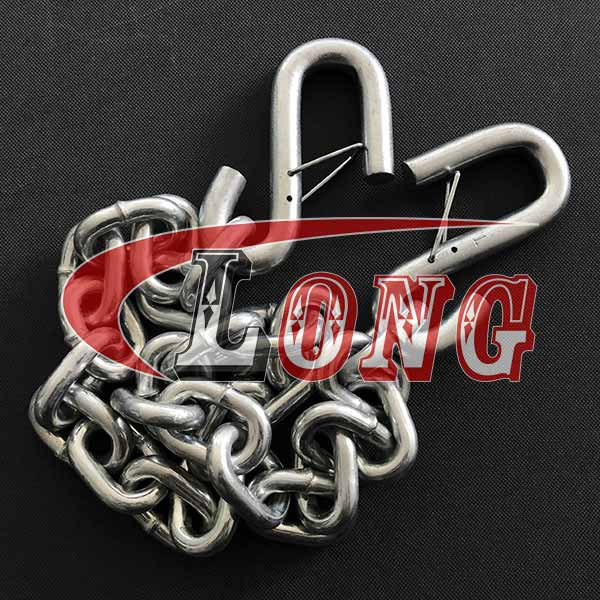 Safety Chain with S-Hooks–