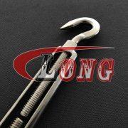 Stainless Steel Eye & Hook Turnbuckle European Type
