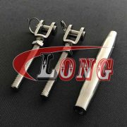 Stainless Steel Rigging Screw Jaw and Jaw