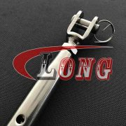 Stainless Steel Rigging Screw Jaw and Jaw (Closed Body)