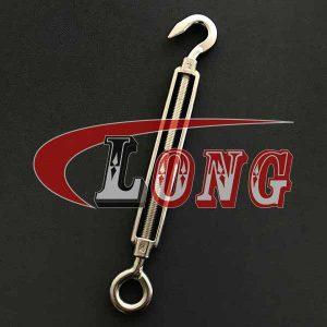 Stainless Steel Eye & Hook Turnbuckle European Type-China LG™