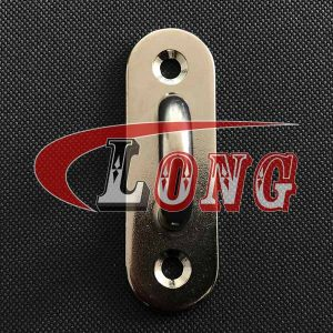 Stainless Steel Oblong Pad Eyes-China LG Manufacture