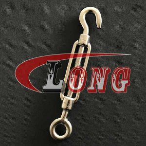Stainless Steel Din1480 Hook & Eye Turnbuckle-China LG™