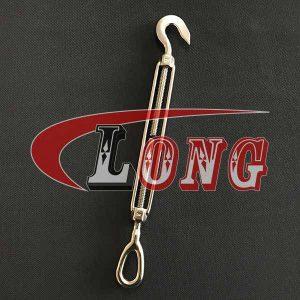 Stainless Steel Turnbuckles Hook & Eye US Fed Spec-China LG™