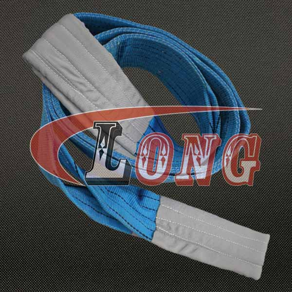 China 8-ton-polyester-duplex-flat-lifting-sling