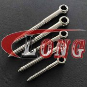 China Eye Bolt with Wood Thread Stainless Steel Manufactures