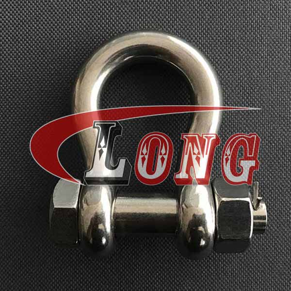 China Stainless Steel Bolt Type Anchor Shackle Suppliers