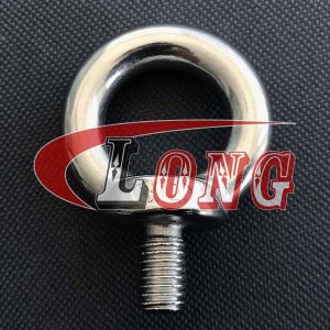 Stainless Steel Din 580 Eye Bolt-China LG Manufacture