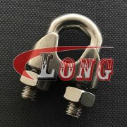 China Stainless Steel Din741 Wire Rope Clips supply