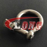 China Stainless Steel Screw Pin Bow Shackles