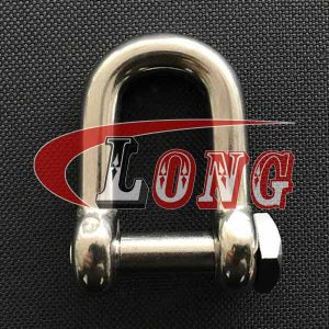 Stainless Steel Square Head Pin D Shackle-China LG™