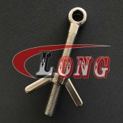 China Stainless Steel Swing Eye Bolt Manufactures