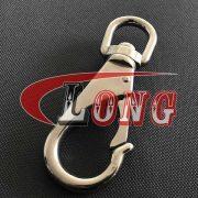 China Stainless Steel Swivel Eye Boat Snap Hook (2)