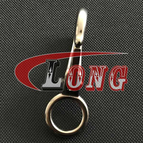 China Stainless Steel Swivel Eye Boat Snap Hook Supply