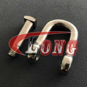 ChinaTrawling D Shackle Stainless Steel -Manufactures