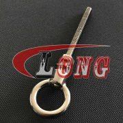 Long Shank Eye Bolt