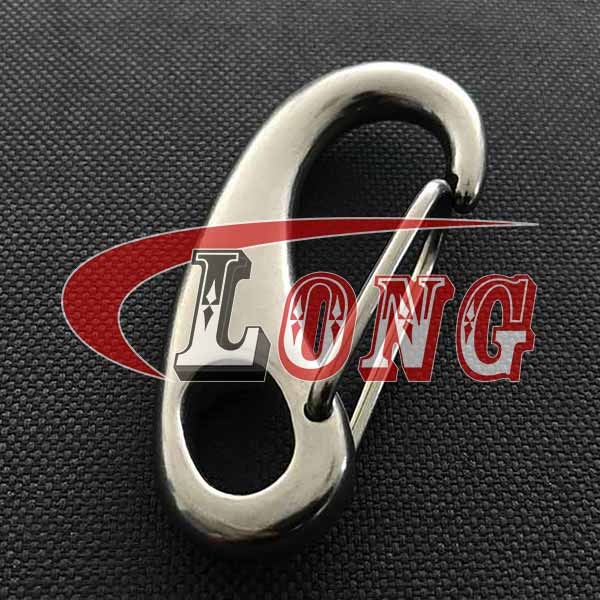 Spring Gate Snap Hook Stainless Steel
